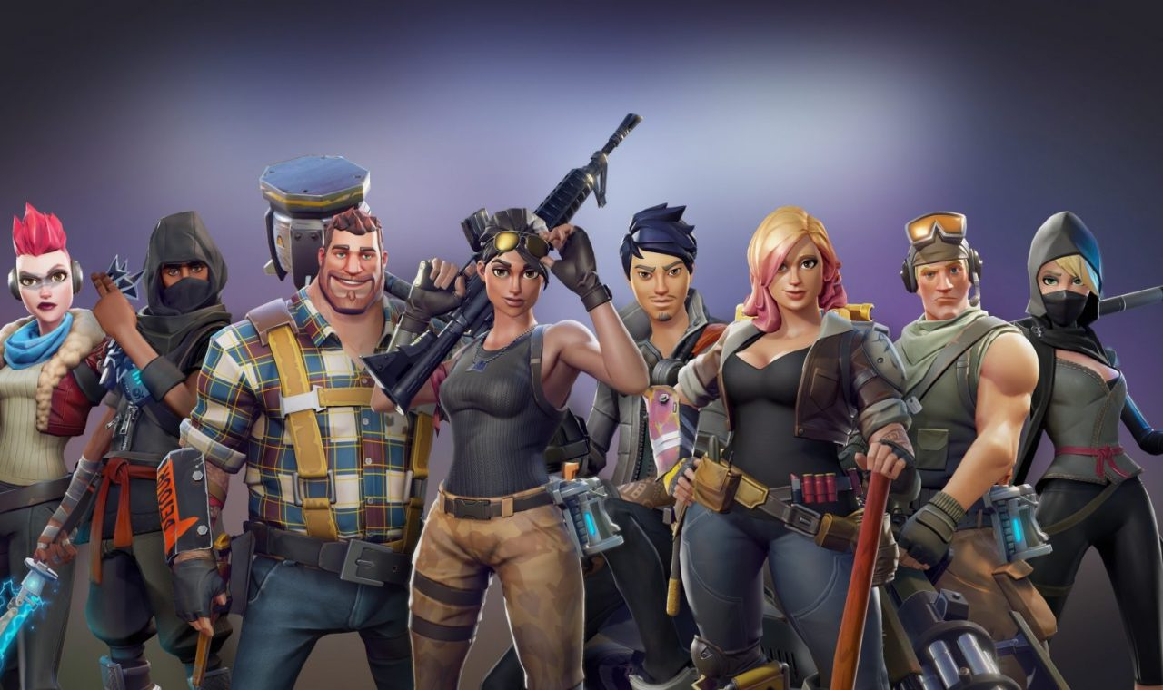 all-characters-Fortnite